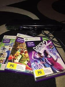 Xbox 360 Kinect Camera and Games Inglewood Stirling Area Preview