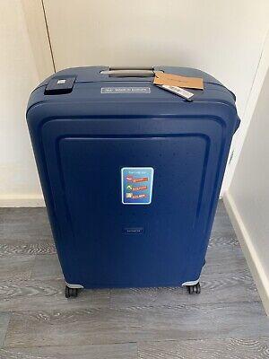 Samsonite S'Cure - Spinner XL Suitcase, 81 cm, 138 Litre, Dark Blue