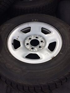 """17"""" Ford rims and tires"""