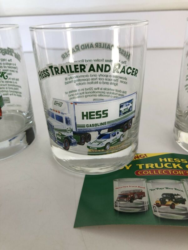 Hess Truck Glasses Set Of 4