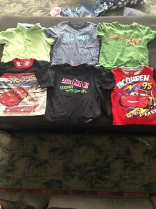 Boys size 2 t shirts