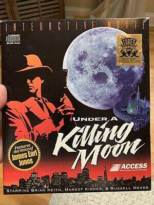 Under A Killing Moon Vtg Big Box PC - BOX & Inserts Only
