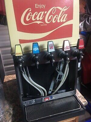 Coca Cola Fountain Vintage Soda 5 Dispensers 1960-70s Machine Coke