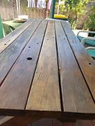 timber table.  Australian Oak. Exeter Port Adelaide Area Preview