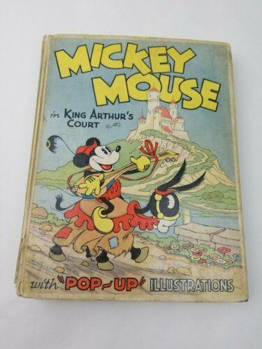 Vintage 1933 Disney Mickey Mouse in King Arthur