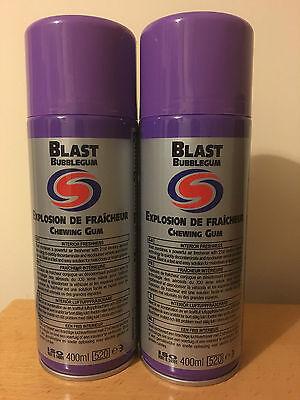 2 X Autosmart Bubble Gum Blast Car Ofiice Gym Home Air Smell 400ml Image