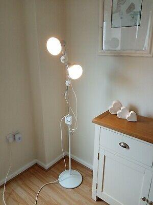 Vintage Retro Twin Spot Light Floor Standing Lamp 1970's Excellent condition