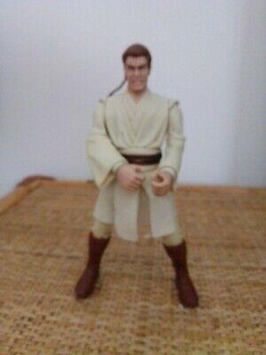"Star wars Obi wan Kenobi Phantom menace vintage 6"" no black series"