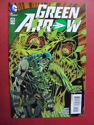 GREEN ARROW #45, MONSTERS OF THE MONTH VARIANT(NM 9.4 OR BETTER) DC COMICS