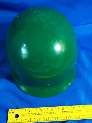 Us Army M26 Plastic Helmet Hard Hat Green Vietnam-era Vtg Nuclear Regulatory