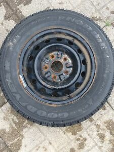 7x pieces Good Condition Winter tires M+S  for $170!
