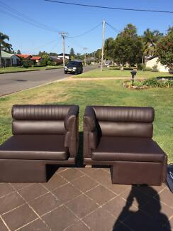 New leather caravan seats Caves Beach Lake Macquarie Area Preview