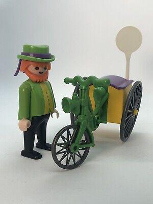 Playmobil Vintage Pretzel Vendor 5506 Set For 5300 Victorian Mansion