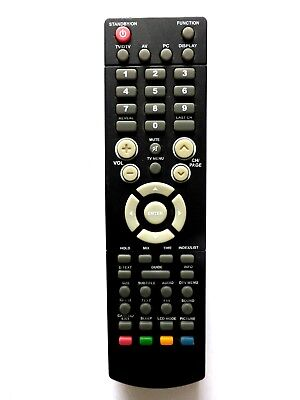 ACOUSTIC SOLUTIONS LCD TV REMOTE CONTROL for PLV1615IDTV, gebraucht gebraucht kaufen  Versand nach Germany