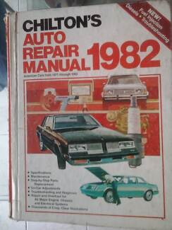 AMERICAN CAR AUTO REPAIR MANUAL 75 to 82 Shelley Canning Area Preview