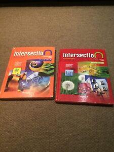 Livre d'école Intersection pour secondaire 3