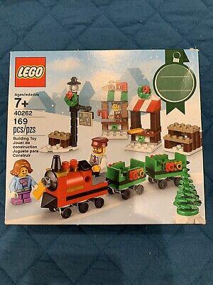 LEGO 40262 Christmas Train Ride 2017 Holiday Seasonal Set 169pcs New Free Ship