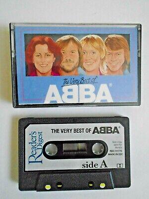 ABBA - The Very Best Of (1989) Rare Reader's Digest Cassette VGC