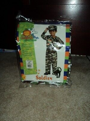 Boys Soldier Military Halloween Costume size (4-6) ](Military Halloween Costumes For Boys)
