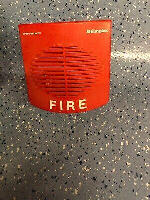 Simplex 4902-9716 Red Speaker Fire Alarm
