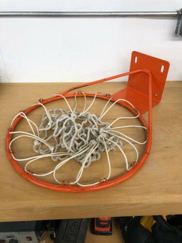 """Vintage Basketball Heavy Duty Hoop Rim 18"""" NBA Orange"""