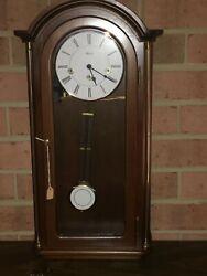 Hermle Westminster Chime Pendulum Wall Clock, 1/4 Hour Strike, Brand New