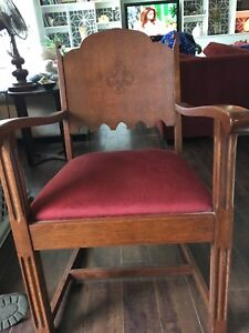 6 oak chairs for sale- Make an offer!$$