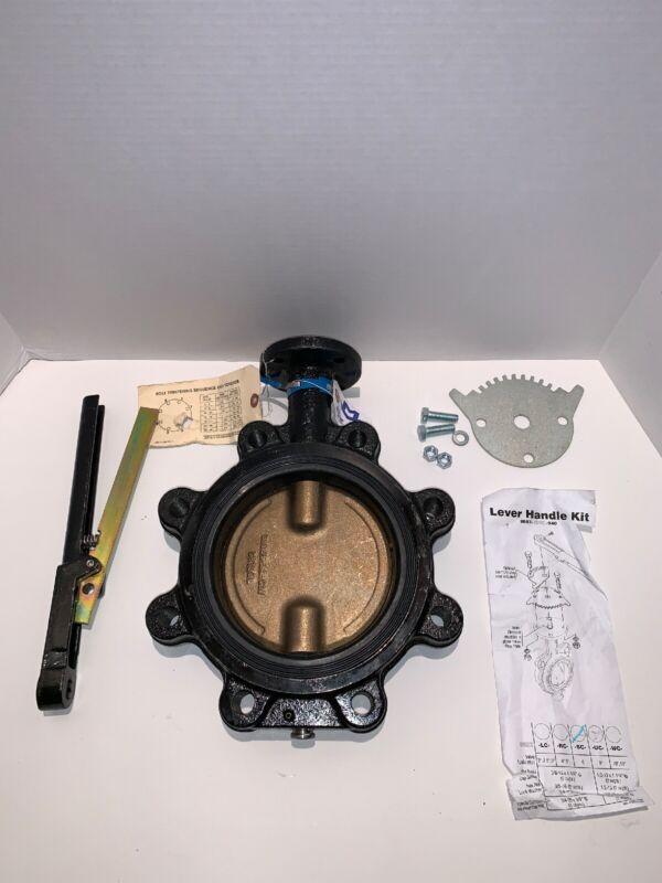 "Milwaukee 39A302 Butterfly Valve 6"" 200psi UPML233E"