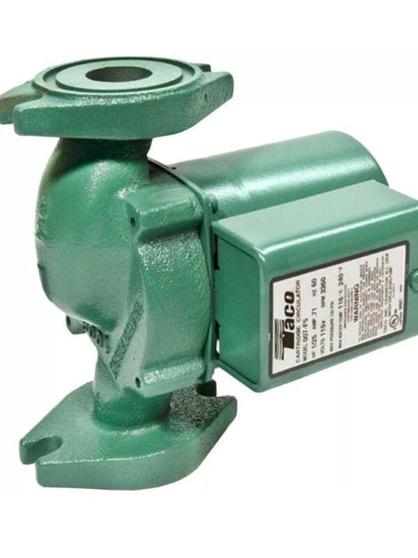 Taco Comfort Solutions Circulator Pump Motor 1/25 HP Cast Iron Hydronic Heating