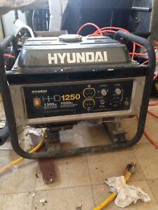 Hyundai 1250 Generator