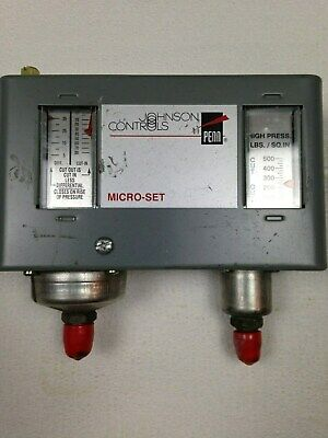 Johnson Controls P10BC-7C Low Pressure Control Sensing Element 240