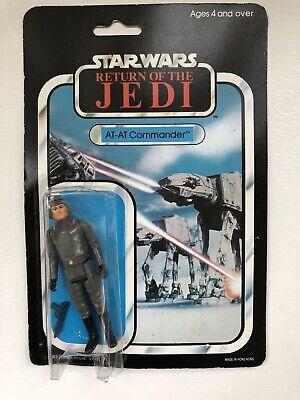 Vintage Star Wars Palitoy ROTJ 45 Back At At Commander Moc Carded