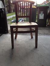 Handmade wooden chair Ashfield Ashfield Area Preview