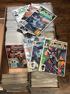 Marvel Punisher Comics!!  Lots of 330 books!! Netflix!!