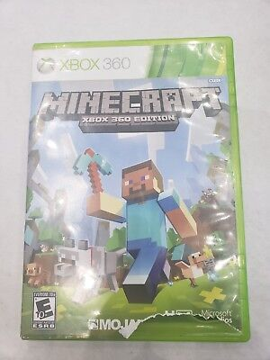 Minecraft (Microsoft Xbox 360, 2013) FREE SHIPPING