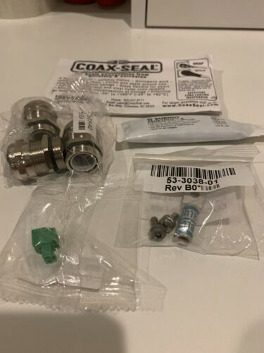 (6) Cisco COAX-SEAL Connected Grid Router Hardware Installation Kits 69-1801-01