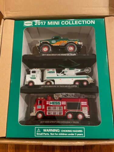 2017 Hess mini collection- set of 3 vehicles- NEW in box/ MINT