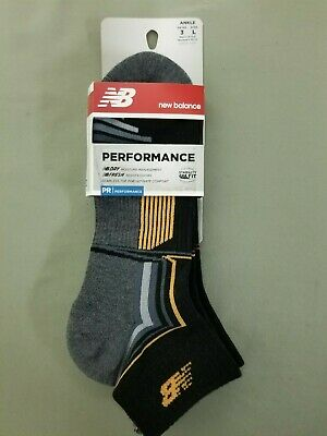 New Unisex New Balance Performance Sport Socks.  2 Pk. New Balance Sport Socks