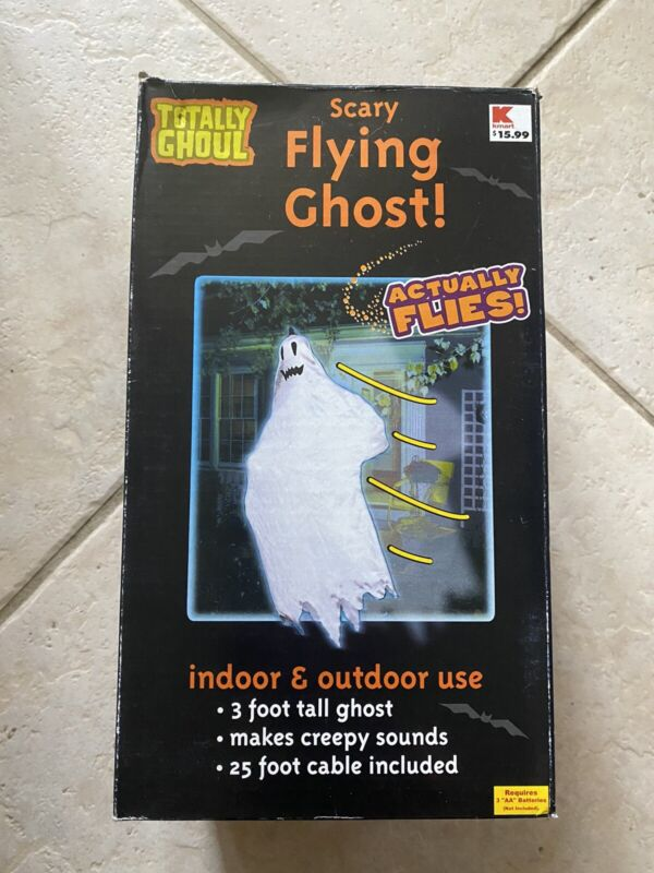 Halloween Tekky Toys Scary Flying Ghost Flies FOR PARTS or Decorative ONLY