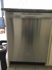 Stainless Steel GE dishwasher