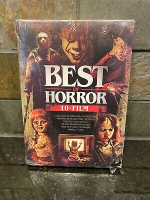 Halloween 2019 Friday 13 (Best of Horror 10-Film Collection (DVD, 2019) NEW! Shining Friday 13th IT Lost)