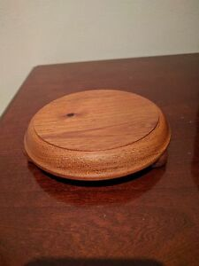 Teapot stand red cedar Deakin South Canberra Preview