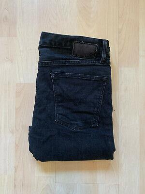 Mens John Varvatos slim fit black jeans W32 L32