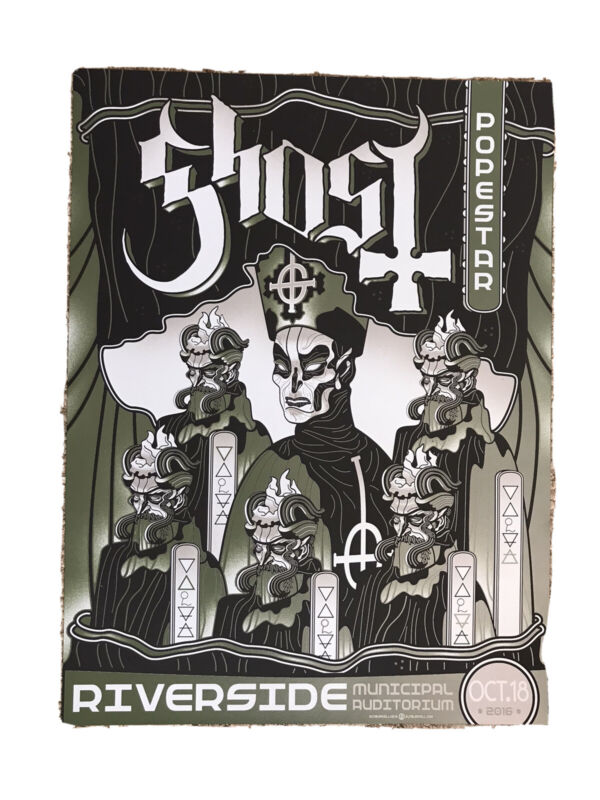 Ghost Popestar Tour Poster