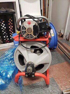 Ridgid K-400 Drain Cleaning Drum Machine 115v