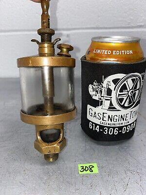 American Lubricator Co. 3 Brass Oiler Hit Miss Gas Engine Vintage Antique Steam