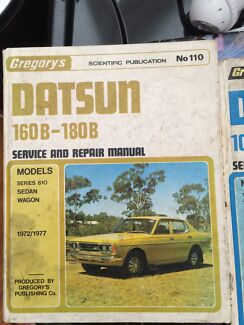 180b Datsun Gregory's manual  Glenbrook Blue Mountains Preview
