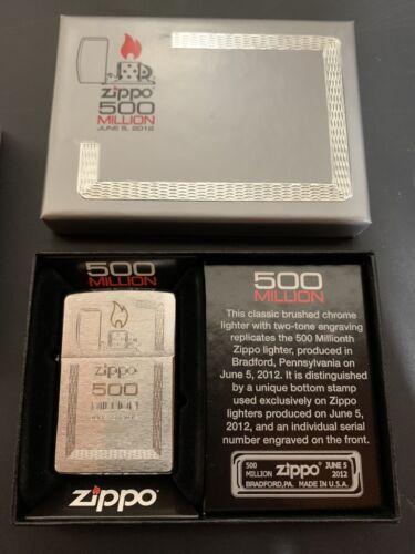 Zippo lighter 500 million Limited Edition