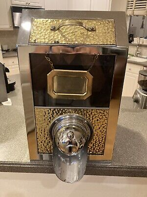 Coffee Bean Dispenser Stainless Steelchromecopper Caf Bistro Display Bin