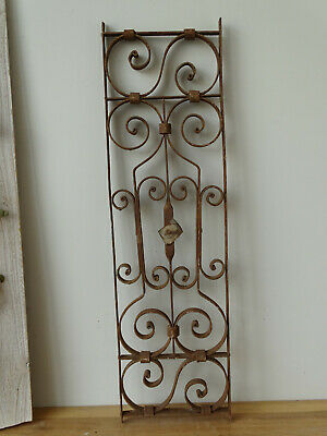 U2687 Window Bars ~ Balkongitter~Trellis~Art Nouveau Fence Element Grid